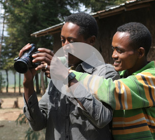 Ethiopia :: Participatory Video on Participatory 3D Modelling making off
