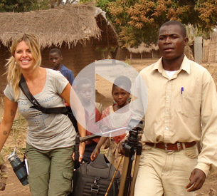 Malawi :: Participatory video Malawi : Farmers Become Filmmakers